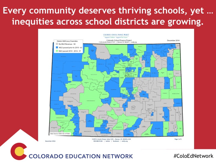 Great Education Colorado | Inequities across school districts are ...